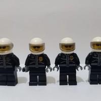 LEGO Minifigure Police City 006 Leather Jacket with Gold Badge