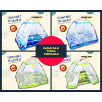 kasur bayi kelambu set murah tenda karakter