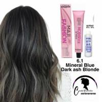 Loreal Majirel 6.1 Dark Ash blonde / pewarna rambut / hair color