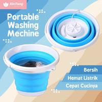 Mesin Cuci Portable Washing Machine Bisa Dilipat Hemat Listrik USB