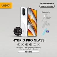 UNEED Hybrid Pro Anti Break Screen Protector Poco F3 Full Cover