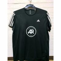 T-Shirt Slim Fit Adidas Runners Hitam 2XL