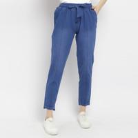ANKLE celana jeans denim wanita angkle