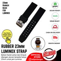 TALI JAM TANGAN KARET UNTUK LUMINOX RUBBER STRAP 23mm