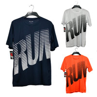 Baju olahraga pria running bola futsal fitnes badminthon lari