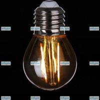 lampu led filamen 2w 3w 4w bohlam pijar edison cafe g45 st64
