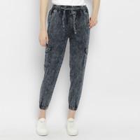 WASH celana jeans denim wanita wash