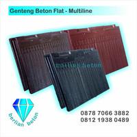 Genteng Beton Flat Multiline