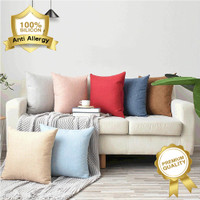 Bantal Kanvas Regency utk Sofa & Mobil size 30 40 45 50 cm by Elegance - Cover Only, 30x30cm