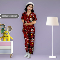 Monalisa Piyama Anak Usia 6-8 Tahun (Size 8) Motif Karakter - Part 2
