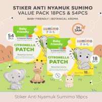 Sticker Anti Nyamuk SUMIMO (DEET Free) Mosquito Paster isi 18