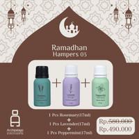 Parsel Ramadan Lebaran Hampers 03 isi 3 botol Essential Oils