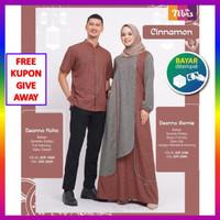 Nbrs Nibras Couple Baju Koko Gamis Kapelan Suami Istri Muslim Pasangan