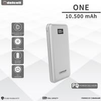 DELCELL ONE 10500mAh Slim PowerBank (Digital Display + QC 3.0 + PD)