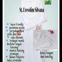 Rabbani Dresslim Silvana Size M Umroh Haji Gamis Setelan Wanita Putri