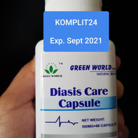 OBAT DARAH TINGGI - HIPERTENSI - DIASIS CARE CAPSULE GREEN WORLD ORI