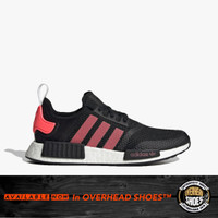 Adidas NMD_R1 Men's Sneakers Shoes - Core Black/Signal Pink