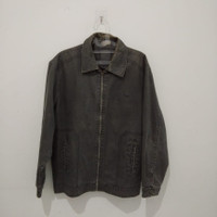 baju jaket pakaian jacket motor xxl laki laki pria cowok bahan jeans