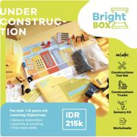 Mainan Sensori - UNDER CONSTRUCTION - Flashcards Pretend Play 1-6 thn