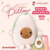 Boneka Bantal Cute Avocado Hadiah Kado Mainan Dekorasi Pillow Pokat