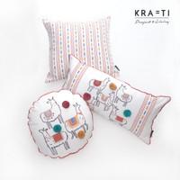 Bantal sofa / Bantal 30x60 cm / Bantal 45x45 cm / Bantal Llama