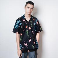 IH GVFI Beach Shirt Flaminggo