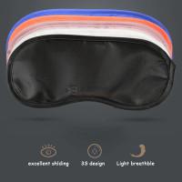 Penutup Mata untuk Tidur Sleep Eye Shade Mask Patch Blindfold - Merah