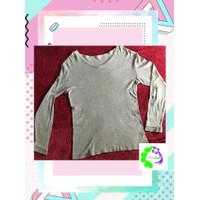 Sweater Pria Pakaian OOTD kerja formal kotak Preloved Baju Second Beka