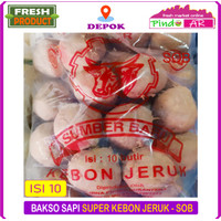 BAKSO SAPI SUPER SB KEBON JERUK / BASO SAPI ISI 10 BUTIR