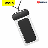 Baseus Let's Go Waterproof Bag Slip Cover Case Tas Sarung Hp Anti Air
