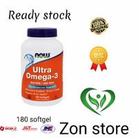 Now Foods Ultra Omega 3 500 EPA/ 250 DHA 180 Softgel