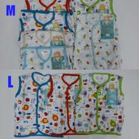 Libby Atasan Baju Buntung Baby M (6-9Bulan), L (9-12Bulan)