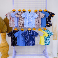Kemeja Oshkosh Premium / Kemeja Baby Milyoner / Baju Anak Kemeja Anak