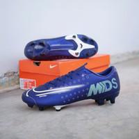 Sepatu Bola Nike Mercurial 13 Academy MDS FG - Blue Void Original BNIB