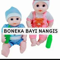 Mainan Boneka Bayi Dot Bisa Nangis/ Boneka Baby Dot B760 Nangis/ Bonek