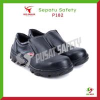 Sepatu Kerja Safety Pendek Slop Red Parker P182