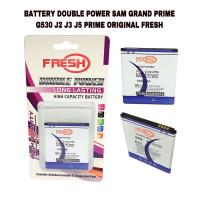 BATTERY BATERAI DOUBLE POWER SAMSUNG GRAND PRIME G530 ORIGINAL FRESH