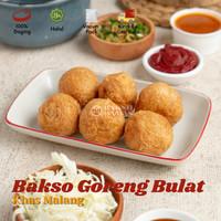 BAKSO GORENG BULAT FROZEN PREMIUM (BAKSO DAMAS MALANG) Isi 9