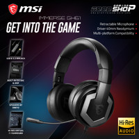 MSI IMMERSE GH61 / GH-61 7.1 Surround Sound - Gaming Headset