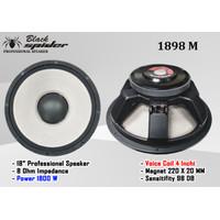 Speaker SUBWOFER 18 inch BS1898 Black Spider Type BS 1898 MK II