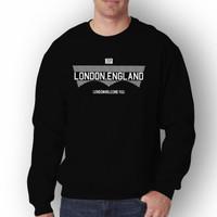 Baju Pria LONDON Lengan Panjang T-shirt Distro/Sweatshirt Pria Terbaru