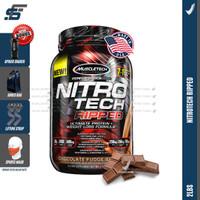 Muscletech Nitrotech Ripped 2 lbs 2lbs Nitro tech Whey Protein