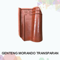 Genteng Morando Jatiwangi Glazur warna Transparan (TP)
