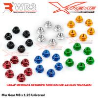 Mur Gear / Nuts Sprocket WR3 M8 GSX Ninja 150 RR R15 MT15 XSR 155