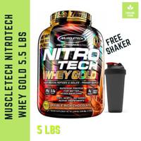 Muscletech Nitrotech Whey Gold 5,5 Lbs Nitro Tech AOM