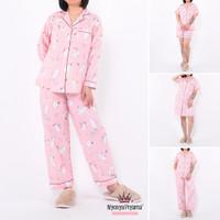 Classic Pajamas / Set Piyama Katun Wanita Dewasa 26