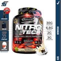 Muscletech Nitrotech 4lbs 4 lbs 4lb 4 lb Whey Protein