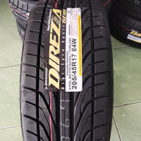 FREE PASANG Ban 205/45 R17 Dunlop Direzza DZ101 17 Produksi Terbaru