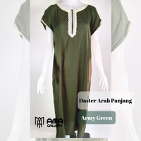 Dress Army Arabian AMA Gallery Bahan Katun Rayon Adem Terlaris