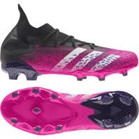 Sepatu Bola Adidas Predator Freak .3 FG - Black Pink FW7514 Original